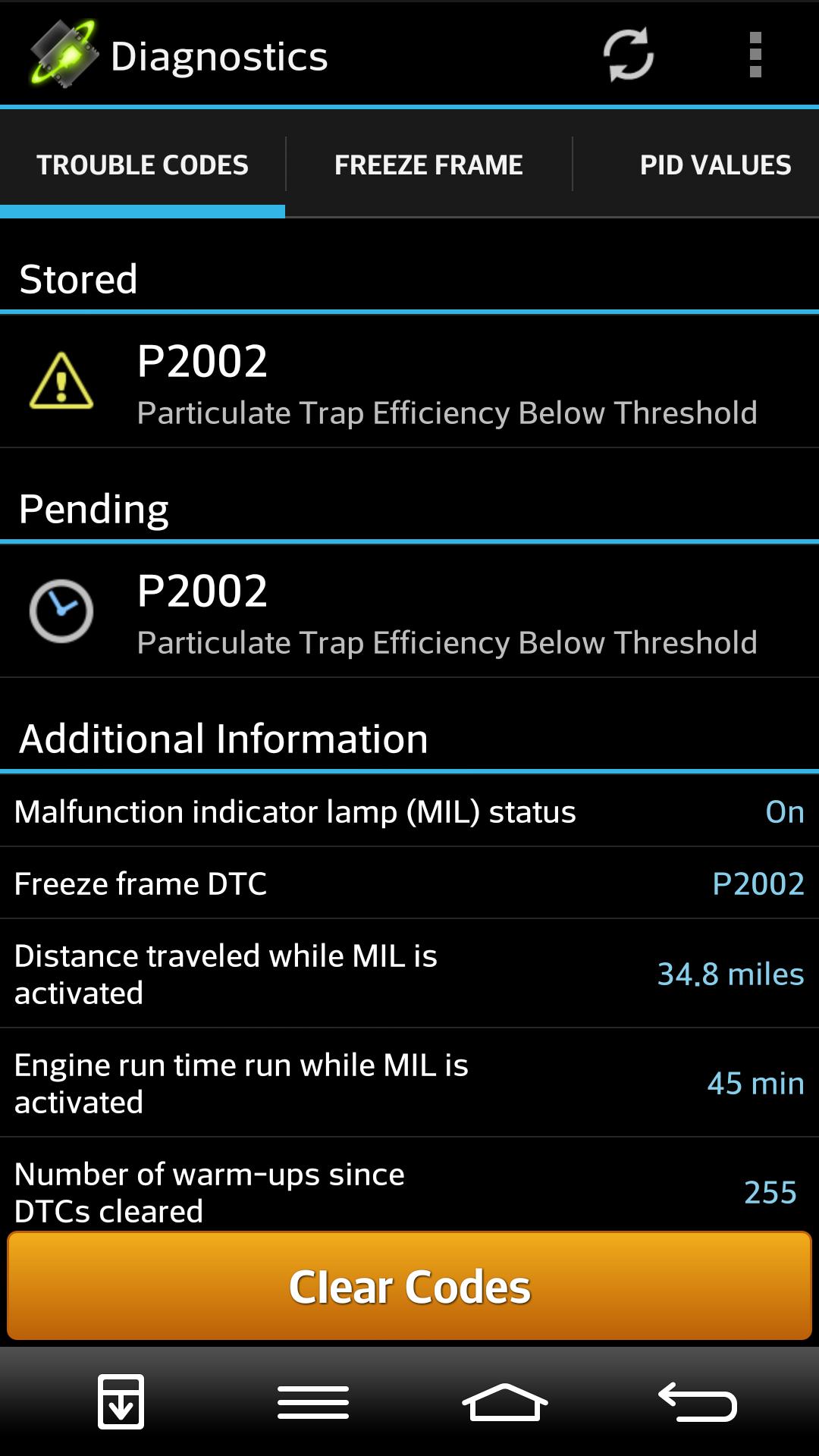 EML on - P2002 error - Diesel Engines (Mk4 Mondeo) - TalkFord com